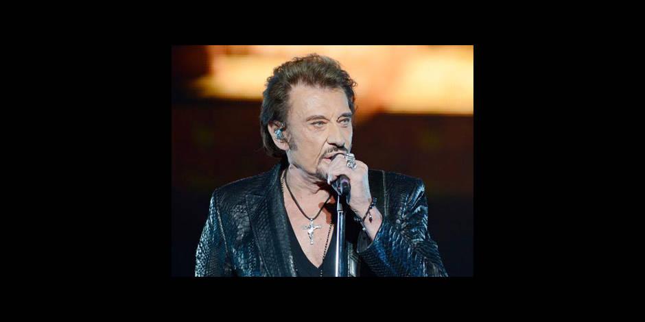 Johnny Hallyday en concert en juin à Namur
