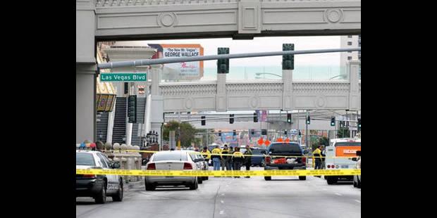 Trois morts et au moins trois bless�s dans une fusillade � Las Vegas