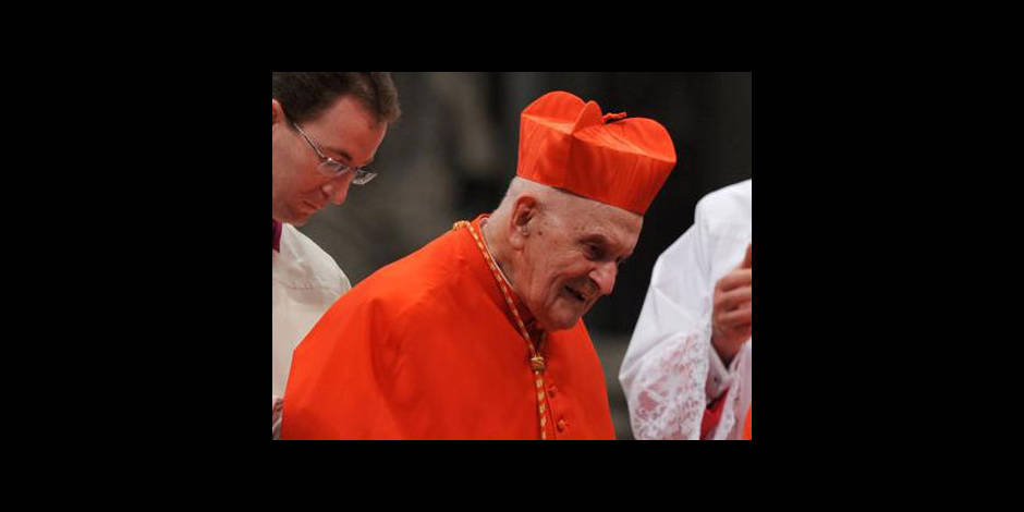 Décès du cardinal belge Julien Ries