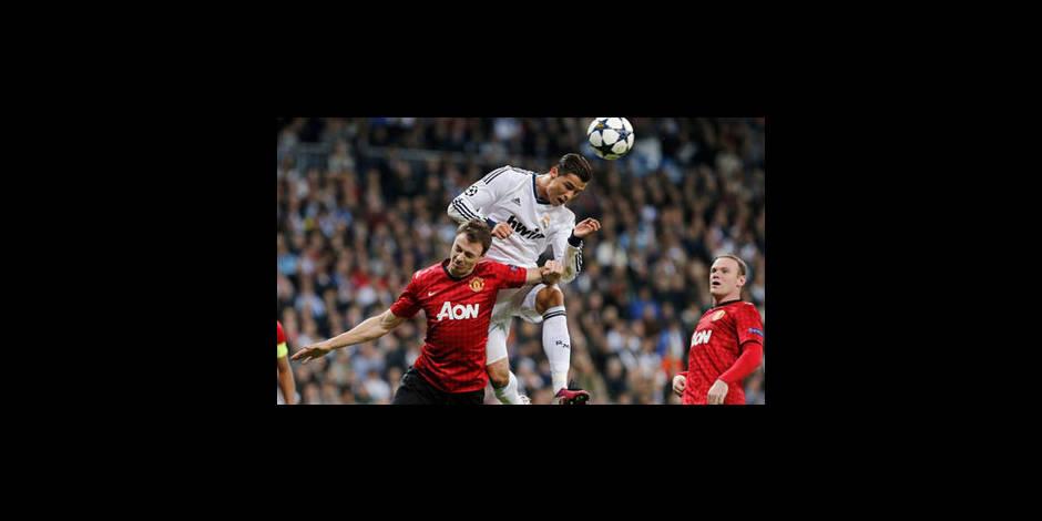 Manchester United tient le Real en échec à Madrid (1-1)