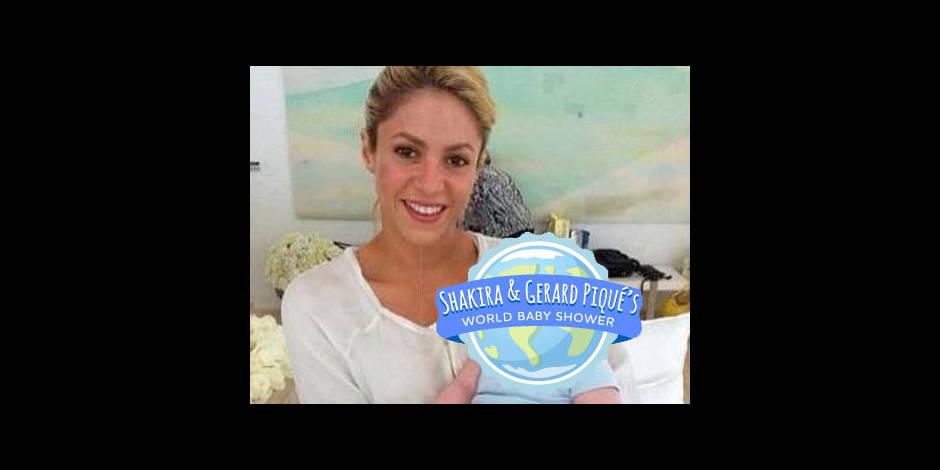 Le bébé de Shakira aide déjà d'autres enfants