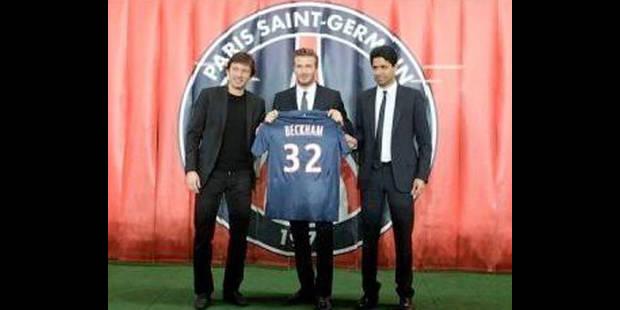 """Wenger: """"Beckham ne sera pas en forme avant quelques semaines"""" - La DH"""