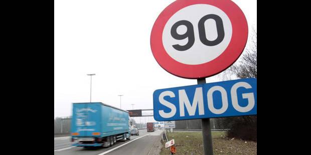 Smog: pr�s de 2.000 automobilistes verbalis�s!