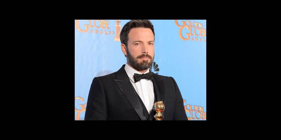 Ben Affleck, roi des Golden Globes