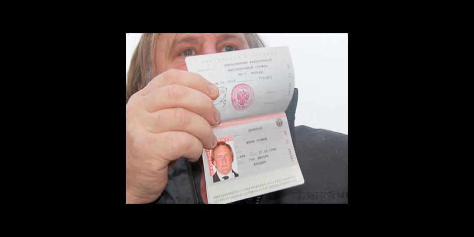 Depardieu quitte la Russie pour le Ballon d'Or