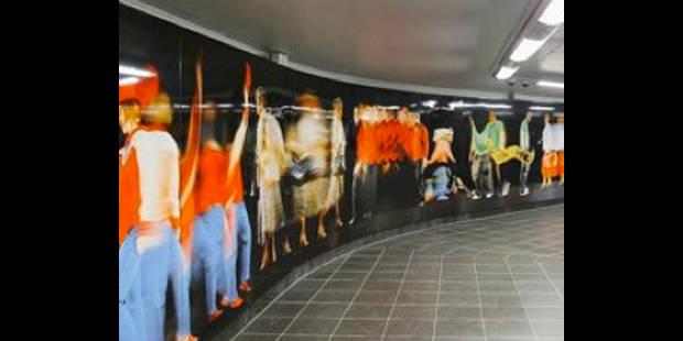 Le coût exorbitant de l'art dans le métro - La DH