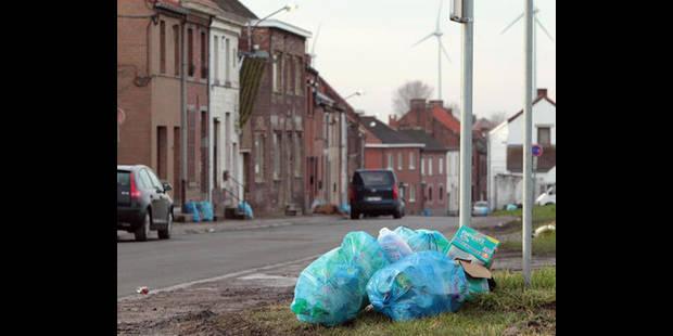 Le déluge  des poubelles