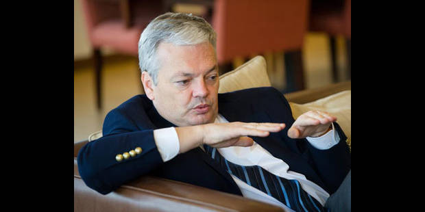 """Reynders : """"Il faut un axe fort MR-PS"""""""