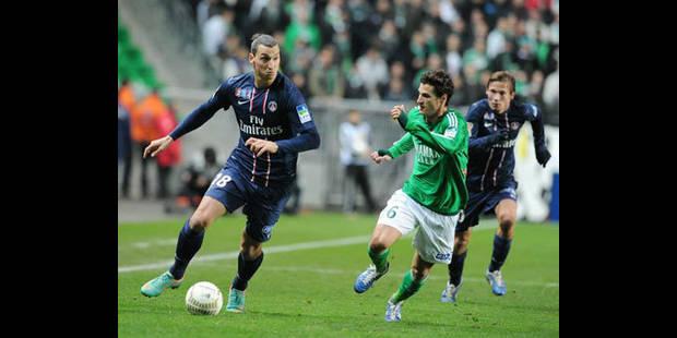 Le PSG à nouveau pris au piège à Saint-Etienne - La DH