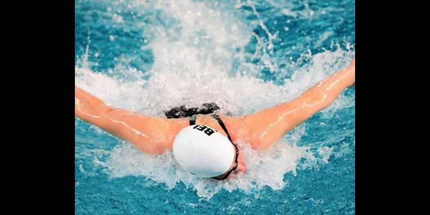 Journ�e faste pour la natation belge � Chartres