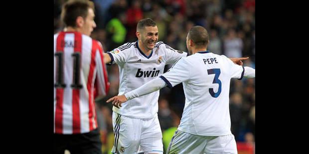 Liga: le Real Madrid étouffe Bilbao et répond au Barça - La DH