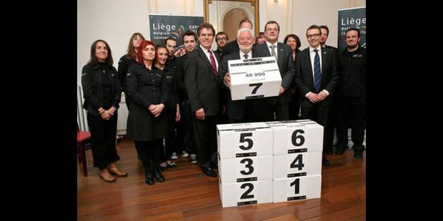 154.913 signatures pour Liège 2017