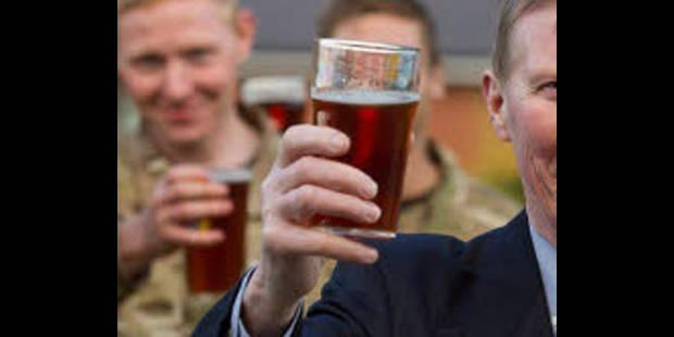 Les jeunes Néerlandais passeront la frontière pour boire une bière - La DH