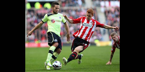 Newcastle laisse filer la victoire dans le derby à Sunderland