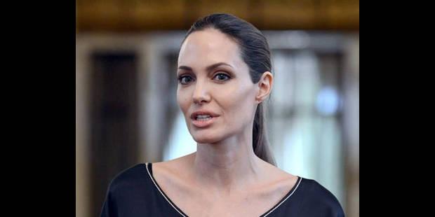Angelina Jolie tourne avec ses enfants - La DH
