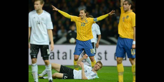 La Suède remonte quatre buts à l'Allemagne...en 1/2 heure