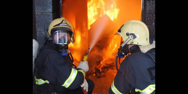 Dix blessés dans un incendie à Mouscron