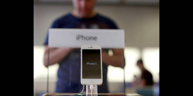 Le march� d��u des ventes de l'iPhone5