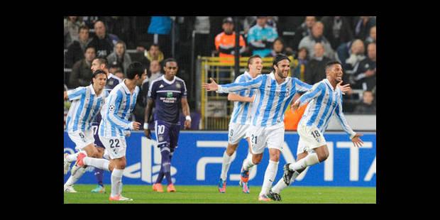 Malaga trois fois trop fort pour Anderlecht - La DH