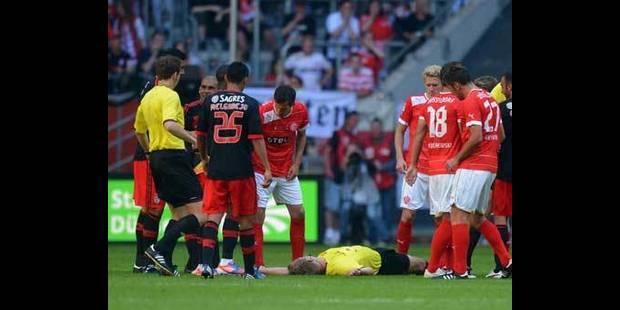 Luisao suspendu deux mois pour l'agression d'un arbitre - La DH