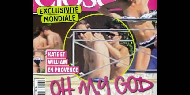 """Kate seins nus: """"la ligne rouge a été franchie"""""""