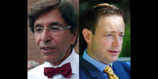Di Rupo et De Wever, les plus populaires - La DH