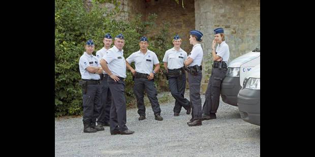 La police fédérale assure la sécurité à Malonne - La DH