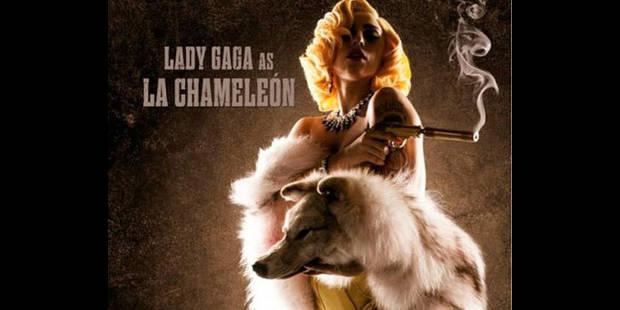 "Lady Gaga ""botte des fesses"""
