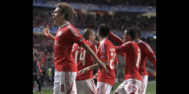 Axel Witsel buteur lors de la victoire 5-2 de Benfica face au Real Madrid - La DH
