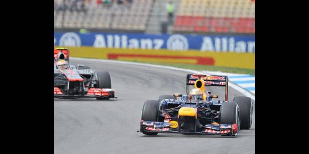 Red Bull critique la sanction de la FIA contre Vettel - La DH