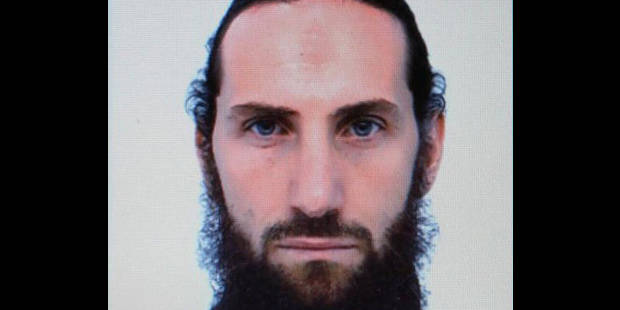Le pr�sum� terroriste Rapha�l Gendron en Belgique
