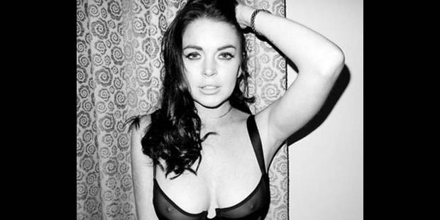 Lindsay Lohan  met le feu…