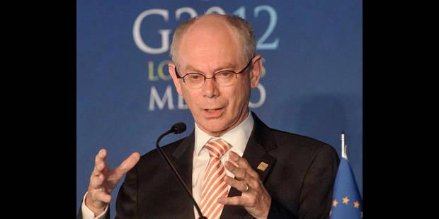 Van Rompuy veut engager les pays de l'UE � r�former leurs retraites