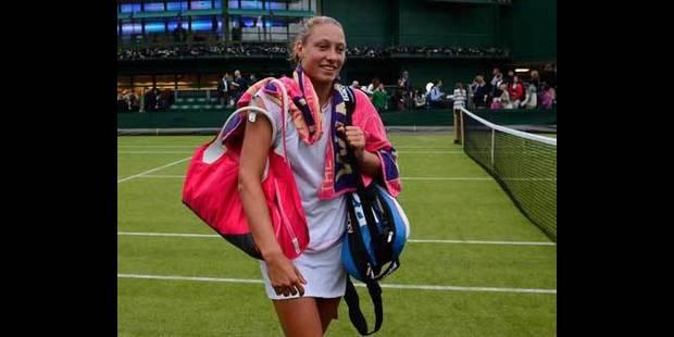 Wimbledon: Wickmayer facilement qualifiée - La DH
