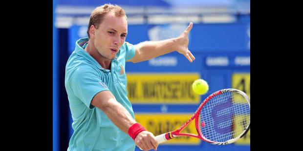 ATP Eastbourne : Darcis, blessé au dos, abandonne face à Roddick