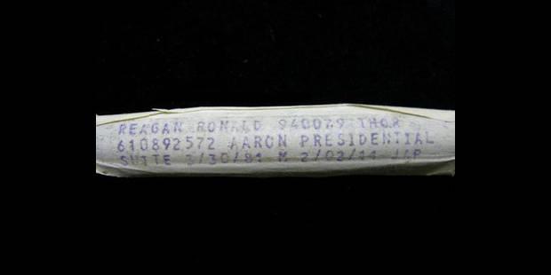 Retrait des enchères de la fiole de sang de Reagan - La DH