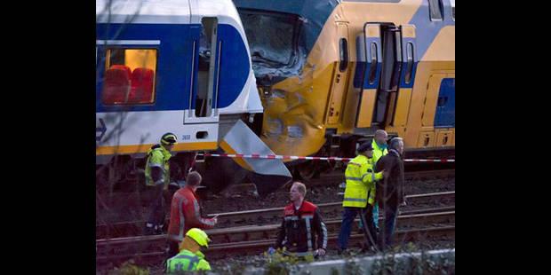 Collision de deux trains à Amsterdam: 125 blessés - La DH