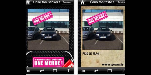 """""""Garé comme une merde"""": l'appli qui dénonce les véhicules mal garés !"""