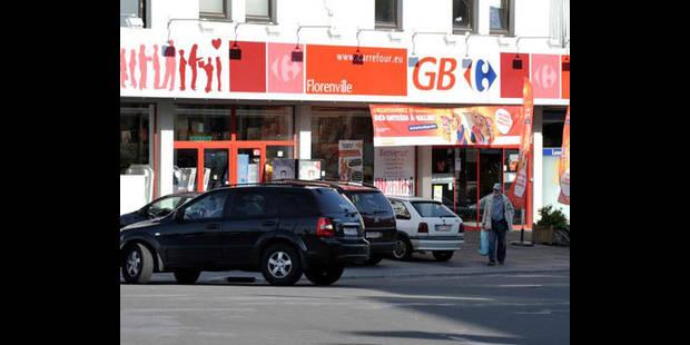 Evacuation du GB dans le centre-ville de Tournai