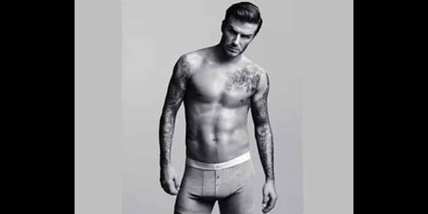 David Beckham fait encore parler de lui... pour H&M