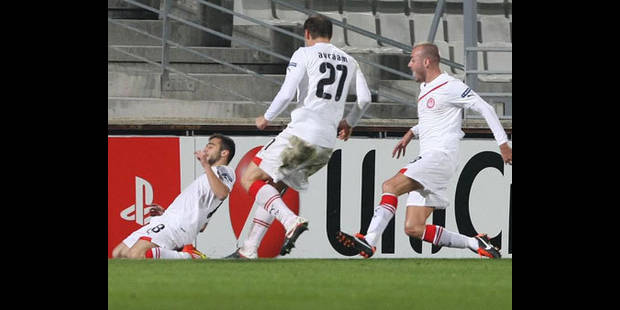 Marseille, battu par l'Olympiakos, devra chercher sa qualification à Dortmund