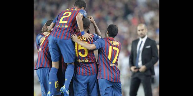 Le Barça trop fort pour l'AC Milan