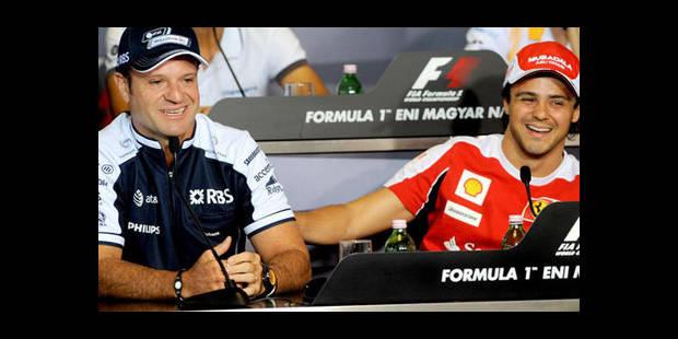 Massa conseille à Barrichello de prendre sa retraite - La DH