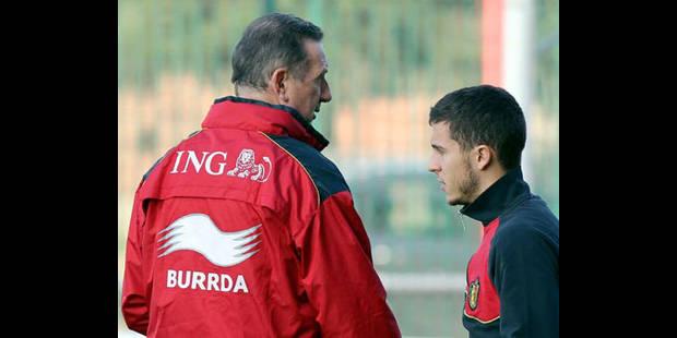 Hazard et Courtois titulaires contre la France mardi - La DH