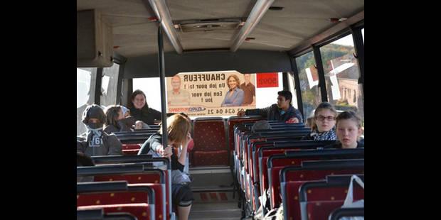 Des heures de trajet  dans le bus scolaire - La DH