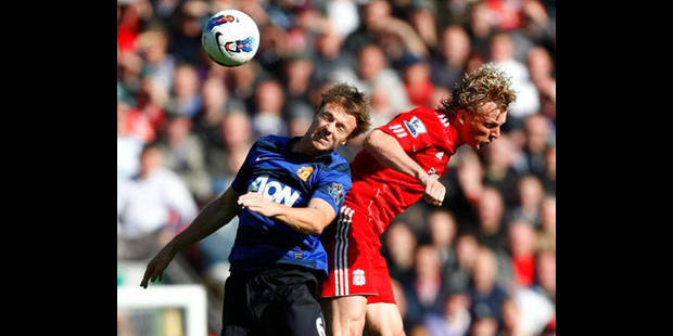 Manchester United et Liverpool dos à dos