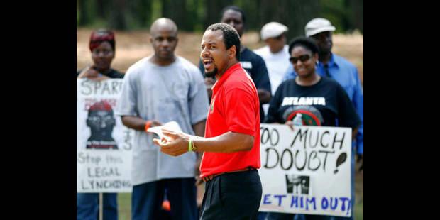 Devant la prison de Jackson, on veut croire au miracle pour Troy Davis