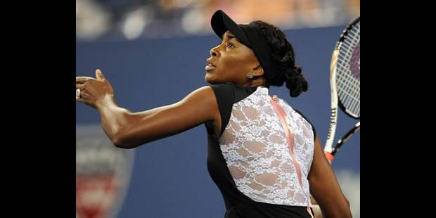 US Open: Venus Williams forfait, atteinte du syndrome de Sjögren - La DH