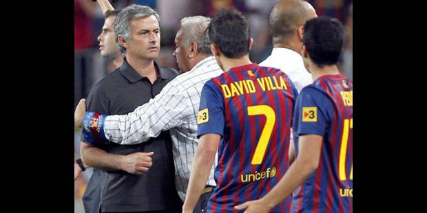 """Jose Mourinho """"n'a pas à s'excuser"""" auprès du FC Barcelone - La DH"""