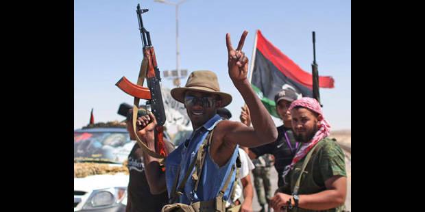 Selon les rebelles libyens, la fin est proche - La DH
